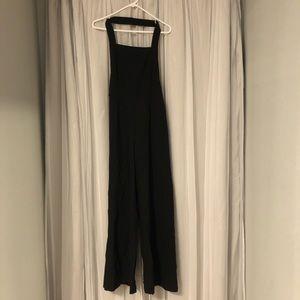 Black one piece jumpsuit